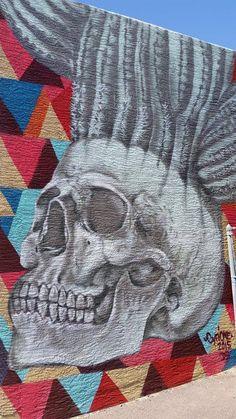 Roosevelt Row mural by artist Cyfione