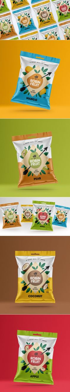 Robin Fruit Is Looking To Steal You Away From Unhealthy Snacks | Dieline