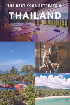 The Yoga Retreat Thailand trend is here to stay. And escaping for yoga retreats in Thailand mid-Winter is the perfect solo adventure. Here's my guide. Thailand Adventure, Thailand Travel Tips, Adventure Travel, Travel Around The World, Around The Worlds, Best Yoga Retreats, Iyengar Yoga, Ashtanga Yoga, Pilates Reformer