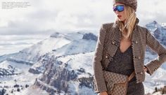 The latest issue of Luxury Magazine shows how to coordinate wardrobes with your beau with this editorial called, 'Uncommon Cold'. Photographed by Dean Isidro (Atelier Management) and styled by Christopher Campbell, models Fabienne Hagedorn and Ben Hill hit the slopes for a day of skiing, sight-seeing and romantic moments. Dressed in the finest cold weather …