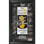 San Antonio Spurs 2013 NBA Western Conference Champions Signature Ticket...So Excited that it was added to my collection!