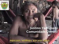 """Hutukara lança vídeo sobre """"isolados"""" em ano de comemoração dos 20 anos da homologação da TI Yanomami. Vídeo registra pela primeira vez imagens de um grupo yanomami isolado que vive dentro da Terra Indígena Yanomami e que corre risco de sobrevivência devido a presença de garimpos a menos de 15 km da sua aldeia."""