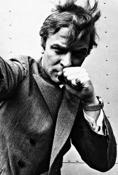 Michael Caine photographed by Stephan C. Archetti, 1965. S)