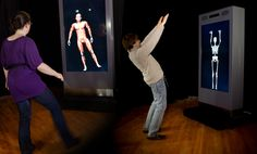 Products: Interactive LCD display with 3D body tracking for marketing, entertainment, retail, and museum exhibits