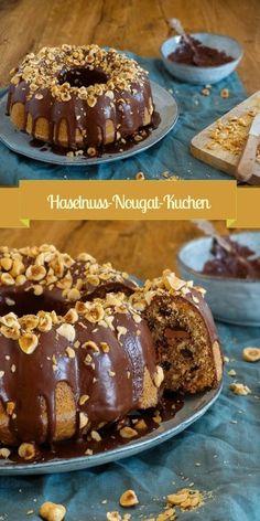 Haselnuss-Nougat-Kuchen