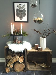 Best Images Candles cozy Ideas As with all candles, the first burn is the most important. To begin, candles should burn one hour fo Room Inspiration, Interior Inspiration, Christmas Decorations, Table Decorations, Holiday Decor, Advent Candles, Tin Candles, Nordic Interior, Nordic Home