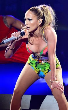 Jennifer Lopez Cuts Her Knee During iHeartRadio Performance, Keeps Dancing Like a Champ—Take a Look! Jennifer Lopez, Popular Actresses, Big Group, Three Daughters, Beautiful Girl Image, Album, Electronic Cigarette, My Little Girl, Celebs