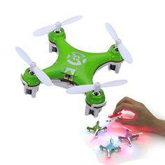 FamilyMall(TM) Drone Cheerson CX-10 CX10 Mini 2.4G 4 canales 6 Axis LED RC Quadcopter RTF FamilyMall http://www.amazon.es/dp/B00SFH2SS2/ref=cm_sw_r_pi_dp_5lF8ub0S4N5TR