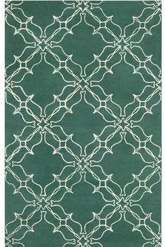 Great rug from Home Decorators:   Lattice Area Rug II,  Item # 13746