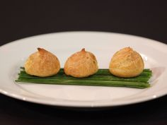 Chorizo and Manchego Puffs, recipe courtesy of Chef Anne Burrell