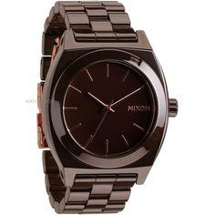 Mens Nixon The Ceramic Time Teller Ceramic Watch A250-2192