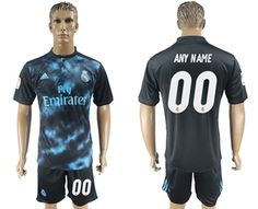 Real Madrid  Customed   Away  Soccer Club Jersey