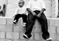 Father like son Someday for sure! I would have this pic with my two man's! Chicano Love, Chicano Art, Chicano Drawings, Baby Boy Cake Topper, Estilo Cholo, Cholo Style, Arte Hip Hop, Baby Girl Quotes, Lowrider Art