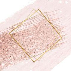 Gold rhombus frame on a pastel pink background premium image by Adj Pink And Purple Background, Gold Wallpaper Background, Rose Gold Wallpaper, Logo Background, Purple Backgrounds, Kids Background, Instagram Frame, Instagram Logo, Logo Spa