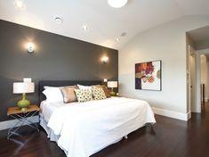 Un mur de couleur sombre pour votre chambre | BricoBistro