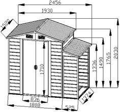Amazon.com: Bestmart INC 8'x5' Storage Shed Large Backyard Outdoor Garden Garage Tool Kit Building Warm Gray: Home Improvement