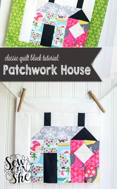Learn to sew a House Block!