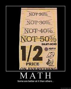 math in the real world I don-t think this person did fraction in math class. Math Puns, Math Memes, Math Humor, Maths, Algebra Humor, Nerd Humor, Math Teacher, Math Classroom, Teaching Math