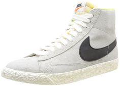 Nike Women's Wmns Blazer MID Suede VNTG, LIGHT BONE/BLACK, 7 US