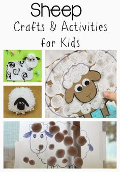 Lion and lamb craft puppets for kids Sheep Crafts, Farm Crafts, Camping Crafts, Craft Activities, Preschool Crafts, Classroom Activities, Lamb Craft, Lion And Lamb, Puppets For Kids