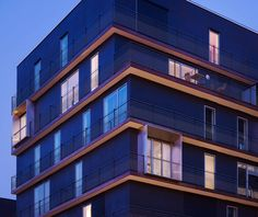 Gallery of 58 Housing Units in Boulogne-Billancourt / LAN Architecture - 10