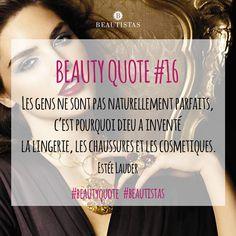 Pensée du soir by Estée Lauder #beautistas #beautyquote #quote #esteelauder #makeup #cosmetics #instabeauty #perfection #shoes