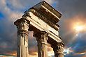 The Temple of Castor and Pollux, The Forum Rome Trajan's Column, Castor And Pollux, Templer, Michelangelo, Vatican, Pictures Images, Emperor, Rome, Italy