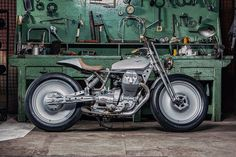 Moto Guzzi V9 by OMT Garage: Winner of the Sky Uno 'Lord Of The Bikes' TV challenge.