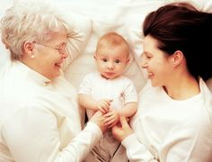 pic of 3 generation with grandma- lifestyle newborn shoot
