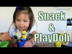 Snacks and Play Doh with Julianna! - itsMommysLife