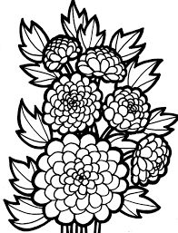 flower coloring page - Flowers Coloring Pages