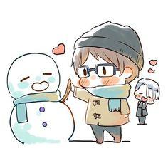 Yuri!!! On Ice (ユーリ!!! On ICE) - Viktor Nikiforov x Yuuri Katsuki (Viktuuri) (ヴィク勇)