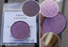 Moonshine Mineral Makeup: Saturn #crueltyfree #eyeshadow #purple