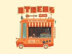 Athens Urban Wagon by Konstantinos Pappas