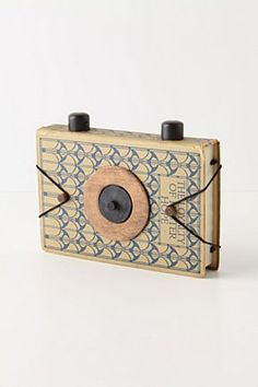 Well-Read Pinhole Camera  Ummm yes I must have this! #camera and #books all in one so to speak. AMAZING!!! $148.00