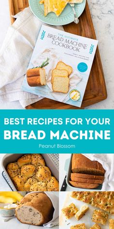 Need easy bread machine recipes for your bread maker? Even beginners will love the deliciously simple bread recipes from The Ultimate Bread Machine Cookbook. Filled with 50 ideas from sweet to savory sliceable sandwich loaves, you'll even learn how to use the Dough program to make dinner rolls and cinnamon rolls with your appliance. Easy Bread Machine Recipes, Easy Bread Recipes, Family Meals, Kids Meals, Easy Meals, Peanut Blossoms, Easy Recipes For Beginners, Dinner Side Dishes, Delicious Sandwiches