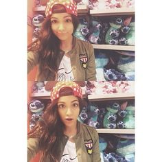 """@Bethany Mota's photo: """"There's so many stitches I don't know what to do with myself """""""