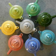fiesta ware makes me happy whether it is the vintage stuff or the new stuff