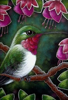 Artist's Portfolio of Cyra R. Cancel - Thumbnails Page 1 of 1 Bird Drawings, Animal Drawings, Hummingbird Pictures, Hummingbird Painting, Artist Portfolio, Pastel Art, Colorful Birds, Whimsical Art, Art Pictures