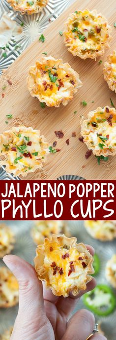 Easy to make and even easier to eat, these baked jalapeno popper phyllo cups are the ultimate appetizer! Everyone is sure to adorethis jazzed up, bite-sized, crowd-pleasing recipe!