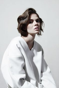 inspiration for www.duefashion.com  Anna Pichler for Philosophy magazine #2 f/w13, Photographed by Balint Barna.