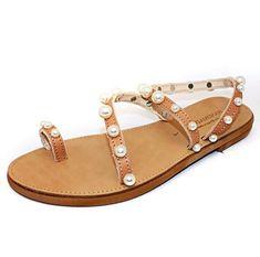 Greek Leather Sandals, Beach Wedding Sandals, Bridal Sandals, Ancient Greek Leather Sandals, Pearl Sandals, Handmade Sandals, Wedding Shoes #etsy #shoes #women #wedding #weddingsandals #bridalsandals #pearlsandals #white