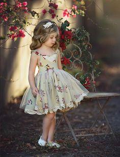 GOLDEN GIRL DRESS - Dollcake