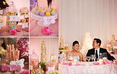 Wedding Candy & Dessert Table