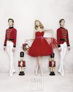 The Nutcracker Girl • Vogue Korea