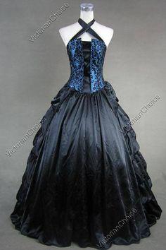 Beautiful gothic Victorian dress:)