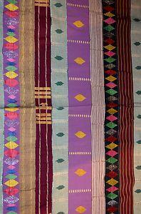 African ASO Oke Cloth Fabric Hand Made by Tribal Yoruba People Nigeria   eBay-80$