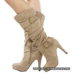 cream boots - Woman Shoes - Best Collection
