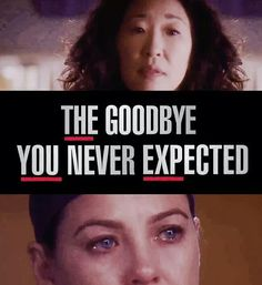 Grey's Anatomy...I don't understand Yang's reasons for leaving a critically acclaimed show when it is at the top of its game!