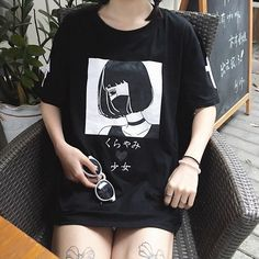$15.42 AUD - Women Girls Japanese Harajuku Shirt Urban Street Style Punk Gothic Blouse Top #ebay #Fashion